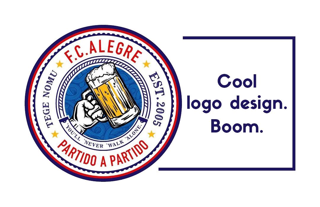 ロゴデザイン。